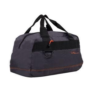 Šedá cestovní taška s oranžovým lemem Les P'tites Bombes Toulouse, 17l