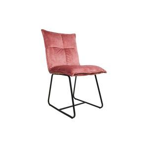 Růžová jídelní židle HSM collection Estelle