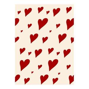 Balící papír eleanor stuart Hearts
