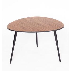Konferenční stolek s černými nohami Ragaba Pawi Pick, 67 x 62 cm