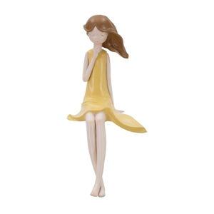 Dekorativní soška ve tvaru panenky Mauro Ferretti Dolly, výška 30 cm