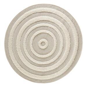 Krémový koberec Mint Rugs Handira Circle,⌀160cm