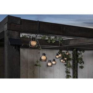Venkovní světelný LED řetěz Best Season Smoky, 10 světýlek