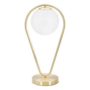 Stolní lampa ve zlaté barvě MauroFerrettiGlamy Drop