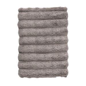 Tmavě šedý bavlněný ručník Zone Inu,100x50 cm