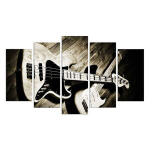 Vícedílný obraz Guitar, 110x60 cm
