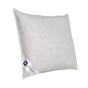Bílý polštář s výplní z kachního peří a prachového peří Good Morning Premium,60x70cm
