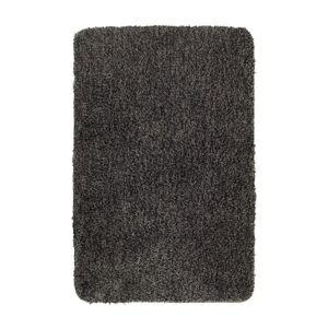 Tmavě šedá koupelnová předložka Wenko Mélange, 120x70cm