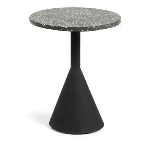 Černý příruční stolek La Forma Melano