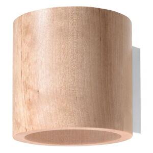 Dřevěné nástěnné svítidlo Nice Lamps Roda