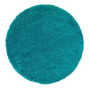 Modrý koberec Universal Aqua Liso, ø80cm