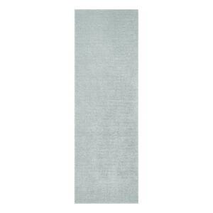 Světle modrý běhoun Mint Rugs Supersoft, 80 x 250 cm