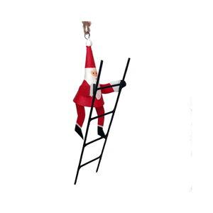 Vánoční závěsná dekorace G-Bork Santa With Ladder