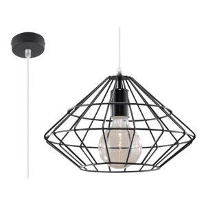 Černé závěsné svítidlo Nice Lamps Editta