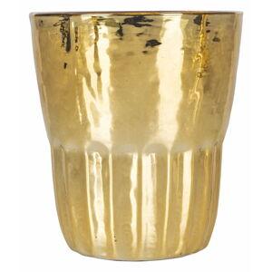 Sada 6 skleniček ve zlaté barvě Villa d'Este Amaro,100ml