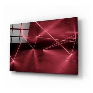 Skleněný obraz Insigne Forbidden Area,110 x70cm