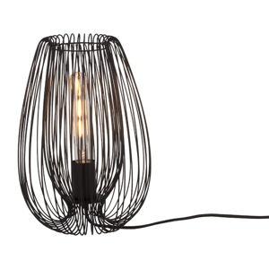 Černá stolní lampa Leitmotiv Lucid
