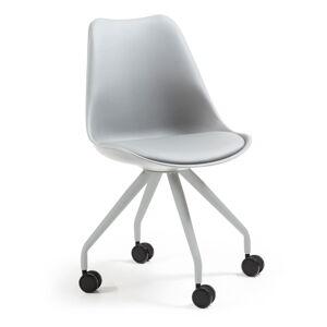 Šedá kancelářská židle La Forma Lars