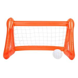 Set oranžové nafukovací branky a míče Sunnylife Pomelo