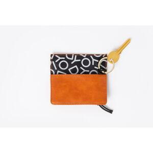 Pánská oranžová peněženka na klíče DOIY Honom