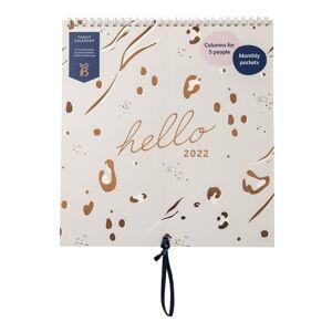 Závěsný plánovací kalendář Busy B Grey