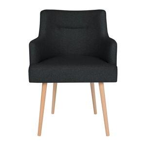 Černá jídelní židle Cosmopolitan Design Venice