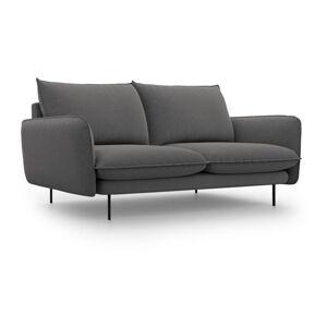 Tmavě šedá pohovka Cosmopolitan Design Vienna,160 cm