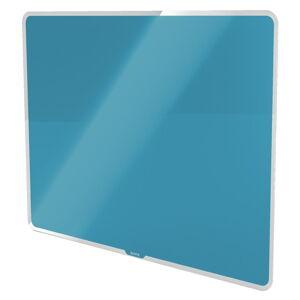 Modrá skleněná magnetická tabule Leitz Cosy, 80 x 60 cm