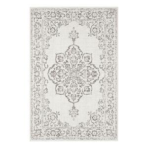 Šedo-krémový venkovní koberec Bougari Tilos, 200 x 290 cm