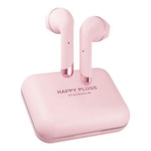 Růžová bezdrátová sluchátka Happy Plugs Air 1 Plus