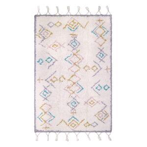 Pestrý bavlněný ručně vyrobený koberec Nattiot Milko,100x160cm