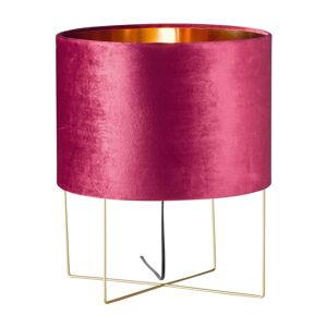 Fialová stolní lampa Fischer & Honsel Aura,výška43cm