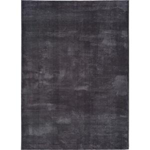 Antracitově šedý koberec Universal Loft, 140 x 200 cm