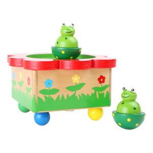 Dřevěná muzikální hračka Legler Frog Pond