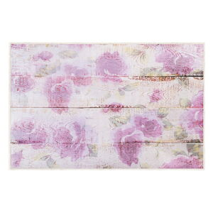 Růžový koberec Oyo home Romantic, 80x140cm