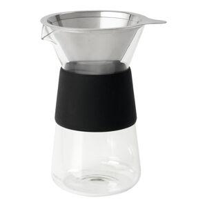 Konvice na výrobu kávy s černými detaily Blomus,400ml