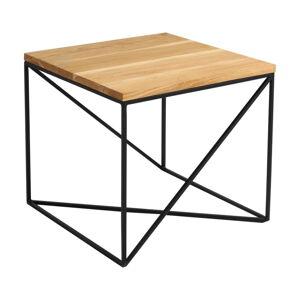 Konferenční stolek v dekoru dubového dřeva Custom Form Memo. délka 50 cm