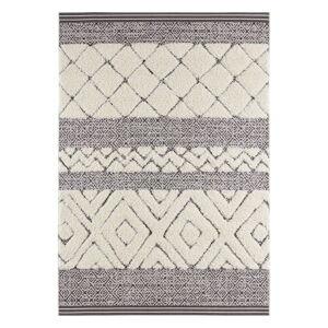 Krémově černý koberec Mint Rugs Todra, 200 x 290 cm