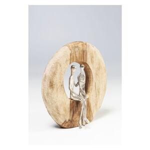 Dekorativní soška Kare Design Couple In Log