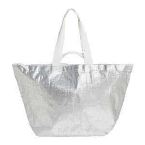 Plážová taška ve stříbrné barvě Sunnylife Carry Me Tote
