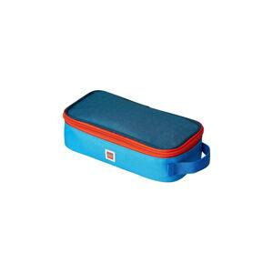 Modré hranaté pouzdro na tužky LEGO®