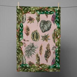 Kuchyňská utěrka Surdic Leaves, 50 x 70 cm