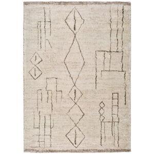 Krémový koberec Universal Moana Freo, 60 x 110 cm