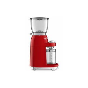 Červený mlýnek na kávu SMEG 50's Retro