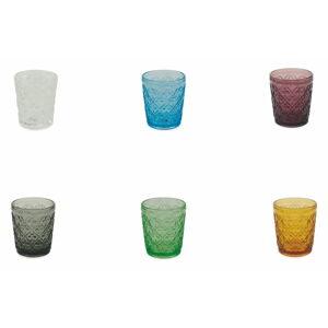 Sada 6 barevných skleniček Villad'Este Marrakech, 240 ml