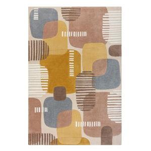 Šedo-žlutý koberec Flair Rugs Pop, 120 x 170 cm