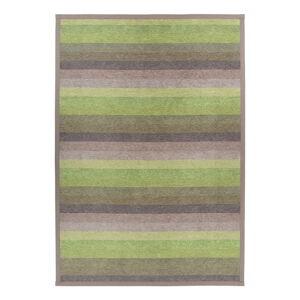 Zelený oboustranný koberec Narma Luke Green, 80 x 250 cm