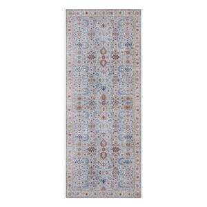 Modro-béžový koberec Nouristan Vivana, 80 x 200 cm