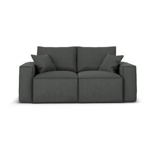 Tmavě šedá pohovka Cosmopolitan Design Miami, 180 cm