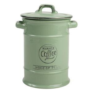 Zelená keramická dóza na kávu T&G Woodware Pride Of Place